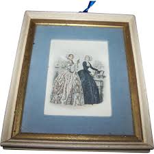 vintage home decor nyc vintage collectible ladies of fashion print fleck bros new york