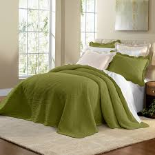 Cotton Quilted Bedspread Florence Oversized Cotton Bedspread Collection Bedspreads