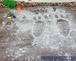 easter bunny footprints how to make a magical surprise for your kids