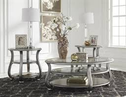 Coffee Table Set Popular Of Glass Coffee Table Set With Metal And Glass Coffee