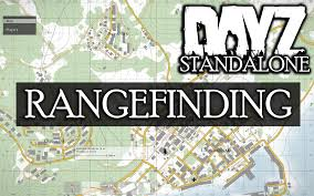 Dayz Sa Map How To Rangefind Using The Map In Dayz Standalone Youtube