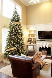 christmas home accents holiday ft noble fir quick set artificial