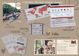mariage voyage collection mariage voyage vintage bul d idéesbul d idées