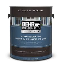 exterior satin enamel paints behr premium plus ultra behr