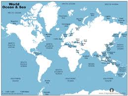 world map oceans seas bays lakes free world maps maps of the world open source mapsopensource