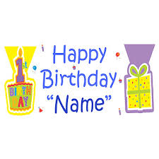 personalized 1st birthday banners supplies personalized
