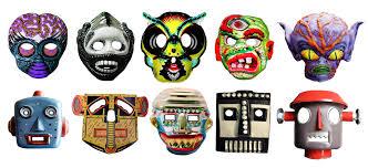 vintage masks aliens robots mask 9432 masks vintage flickr