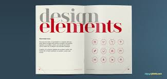 brand design element guidelines brand book template