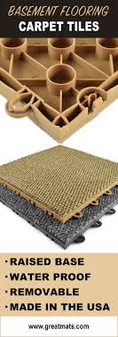 raised carpet tiles are an excellent way to add comfort and style