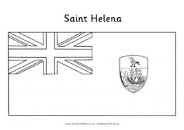 gambia flag colouring page