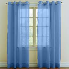 brylanehome studio sheer voile grommet curtains curtains