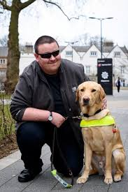 Blind Dog And His Guide Dog Uber Driver Fined For Refusing To Pick Up Blind Passenger Because
