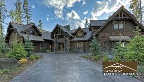 Timber Frame Cottage by Custom Timber Frame Homes