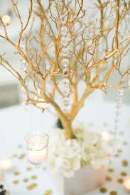 manzanita centerpieces 30 chic rustic wedding ideas with tree branches tulle