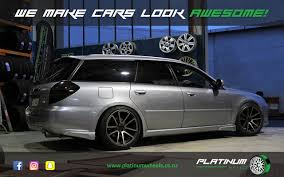 Subaru Legacy Platinum Wheels