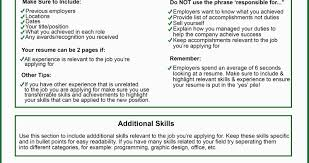 What Should Be My Resume Title 100 Categories For Resume Skill Example For Resume Resume