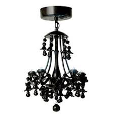 chandelier magnets locker lookz black motion sensor led chandelier amazon com