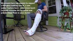 Decorated Walking Boot Cam Walker Walking Cast Fracture Boot Alternative Waterproof Short