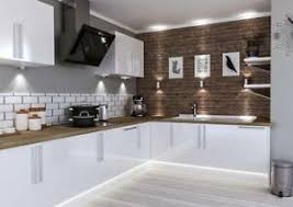 kitchen cabinets white gloss details about high gloss slab white modern 7 kitchen cabinets price offer new