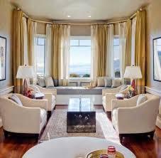 Modern Bay Window Curtains Decorating Alluring Modern Bay Window Curtains Inspiration With 30 Bay Window