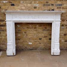 antique reclaimed wooden georgian style fire surround salvoweb com