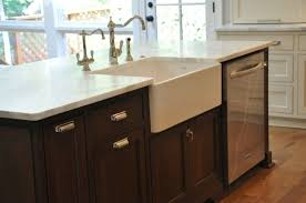 kitchen islands with dishwasher kitchen island with raised dishwasher prep sink placement in for