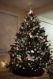 small white christmas tree with lights decoration beautifully decorated christmas trees christmas tree