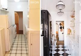 Opening Up A Galley Kitchen Before And After Brady U0027s Kitchen Reveal Emily Henderson