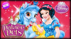 disney princess palace pets snow white u0026 sweetie game kids
