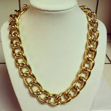 gold necklace chunky chain images Gold chain necklace chunky gold chain link by mcintoshjewelry jpg