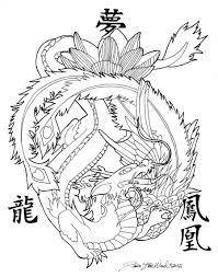 100 dragon and phoenix tattoo japanese dragon tattoo best