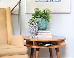 Building Small Side Table by Uncategorized Mid Century Modern Side Table Diy Beautiful Round