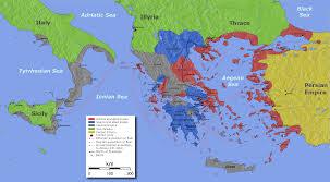Aegean Sea Map Map Of The Peloponnesian War 431 404 Bc 1800x992 Mapporn