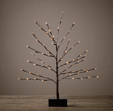 twig tree with lights light up your décor for the holidays design4n6