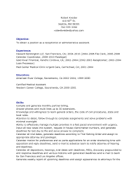 Resume Samples For Administrative Assistant Position by Resume Objective Examples Administrative Assistant Position Free