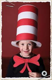 homemade cat in the hat costume diy costumes pinterest