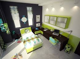 Modern Black And White Bedroom For Girls Paint Color Ideas For A Kids Bedroom The Two Tone Red And Gray
