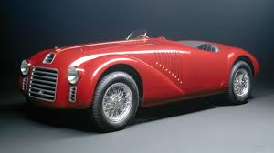 ferrari classic models meet the first ever ferrari road car the v12 engined 125 s top gear
