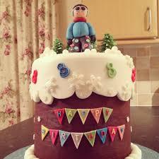 snowboarding birthday cake created for a child u0027s 8th birthday