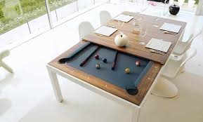 Fascinating Dining Room Table Pool Table Combination  About - Pool tables used as dining room tables