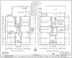 file putnam house floor plans jpg wikimedia commons