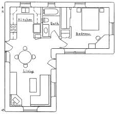 l shaped apartment floor plans unusual idea small house plans l shaped 2 nikura