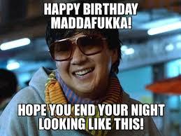 Silly Birthday Meme - inappropriate happy birthday memes mne vse pohuj