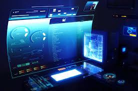 Futuristic Computer Desk Futuristic Computer Desktop Dl Futurism Pinterest Future