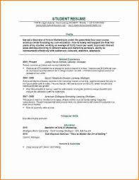 college student resume exles summer jobs exle of resume for college application exle of resume for