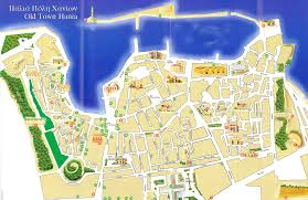 Map Of Crete Greece by Chania Old Town Map