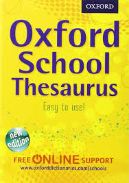oxford thesaurus all round writing support for children