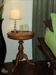 round oak end table traditional round oak side table by gilda furniture