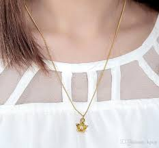 customized baby jewelry bigbang crown necklace childrens designer jewellery customized