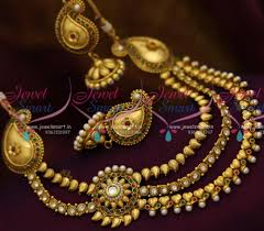 new fashion necklace designs images Smartjewel in indian traditional gold design immitation fashion JPG